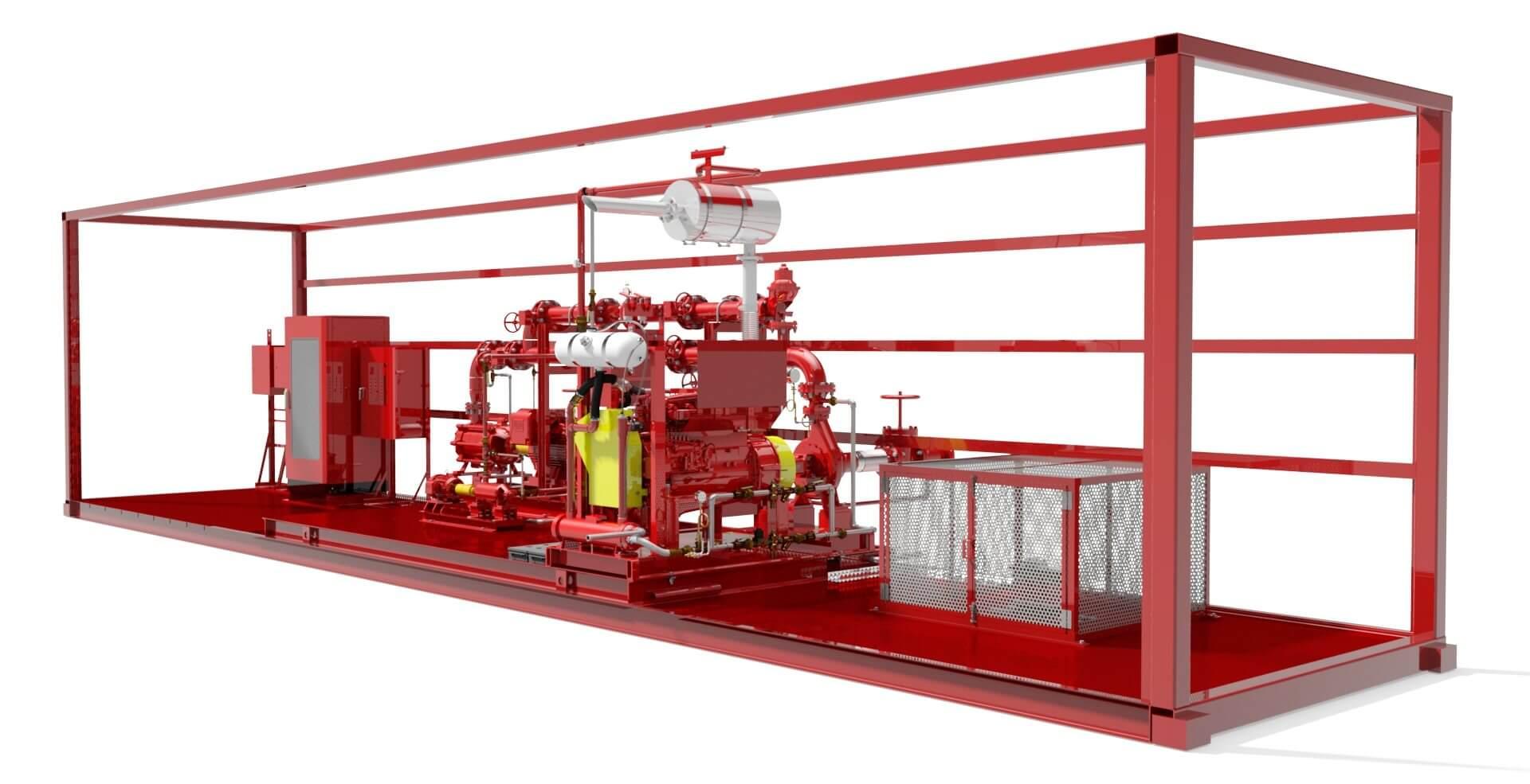 Manutenção de sistemas de incêndio